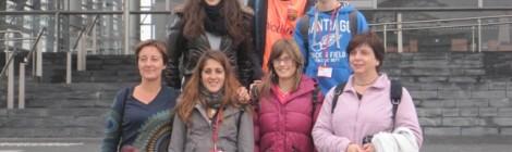 Trobada d'alumnes i professors participants en el projecte Comenius a Gal•les