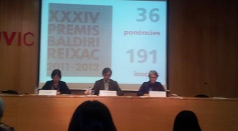 Cor de Maria participa a la I Jornada Premis Baldiri Reixac