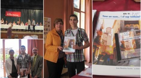 Premi Baldiri Reixach per un alumne del Cor de Maria