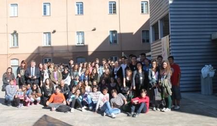 1ª Trobada del projecte Comenius a la nostra escola