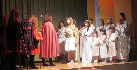 Activitats de Nadal de l'escola Cor de Maria