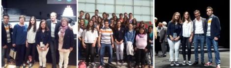 Finalistes del certamen nacional de Lectura en Veu Alta