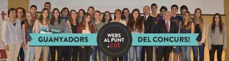 La classe de quart d'ESO premiada per la Fundació puntCAT