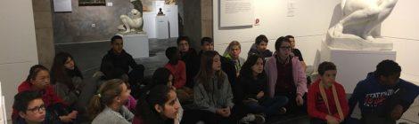 Visita al Museu Comarcal de la Garrotxa