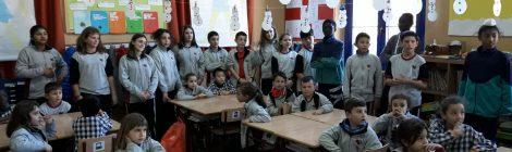 """L'ALUMNAT DE 1r i 6è INICIEN EL PROJECTE """"PADRINS DE LECTURA"""""""