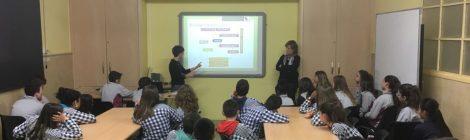 Xerrada informativa sobre l'etapa ESO a l'alumnat de 6è de primària.